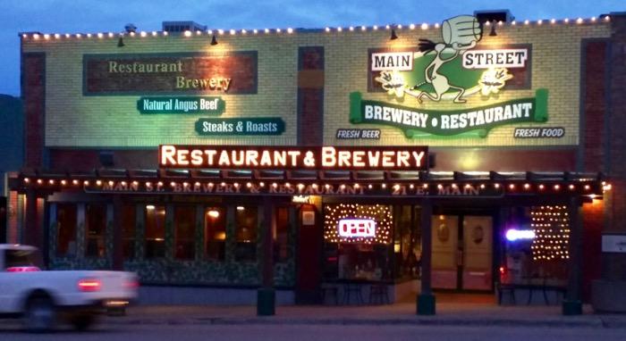 main st brewery cortez exterior