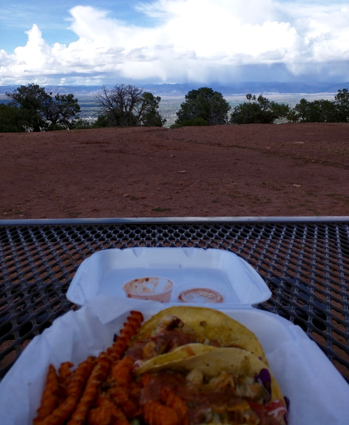 colorado national monument fish tacos