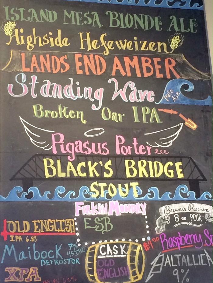 kannah creek brewery beer list