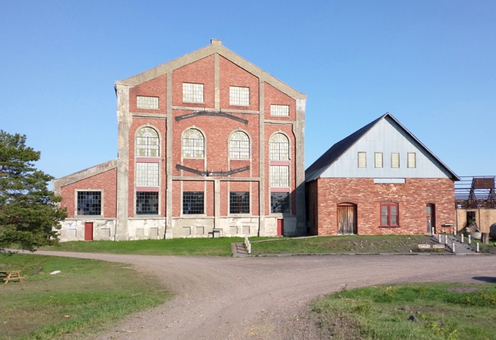quincy mine hoist building