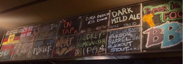 bluegrass brewing beer list