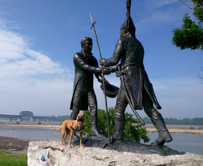 george rogers clark statue