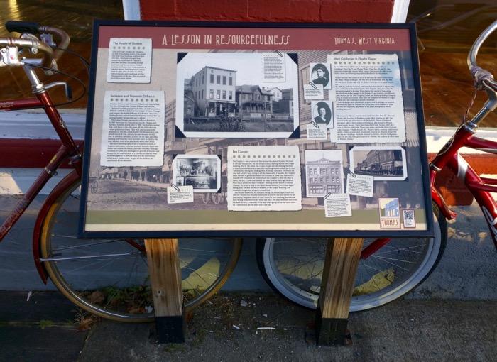 thomas wv historic walking tour