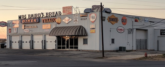 Abilene retro signs