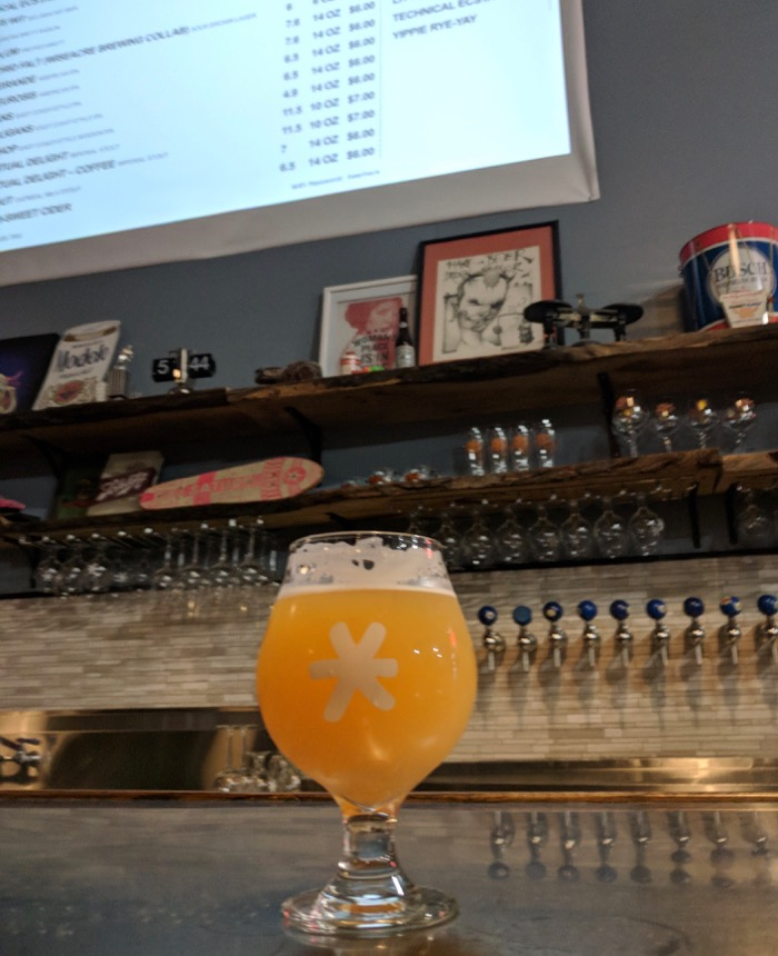 beer at Second Shift Brewing
