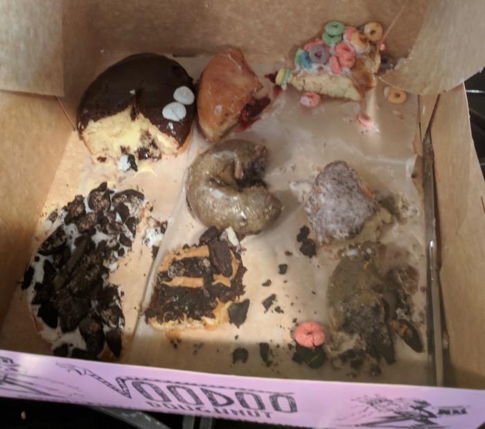 Voodoo Doughnuts-after