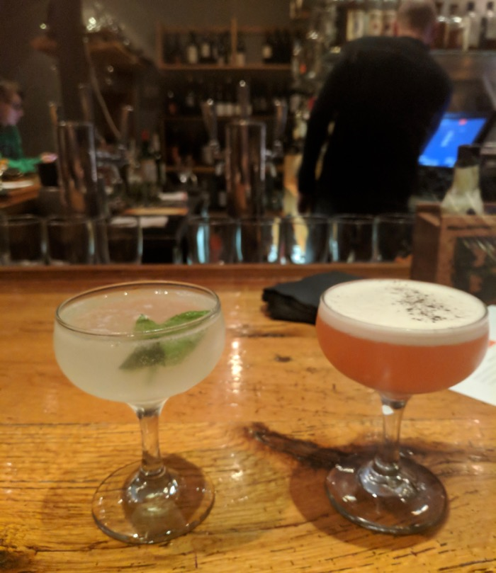 cocktails at Silo in Germantown
