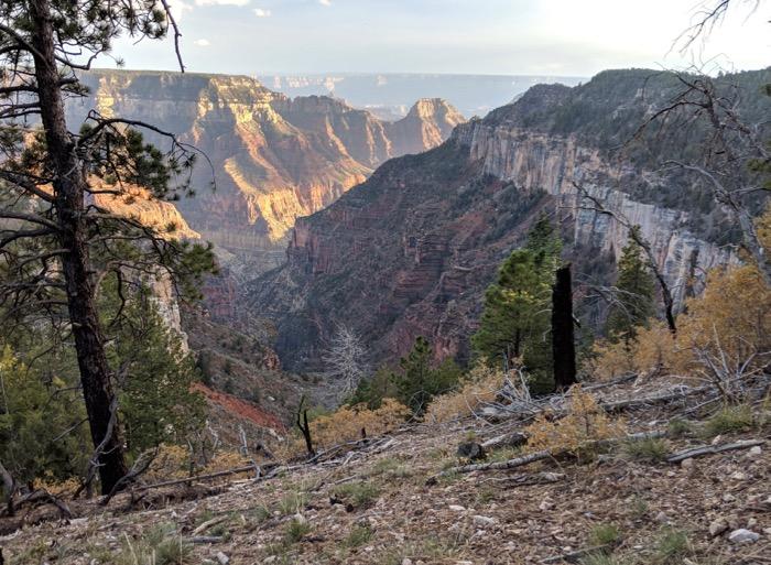 Uncle Jim Trail Grand Canyon