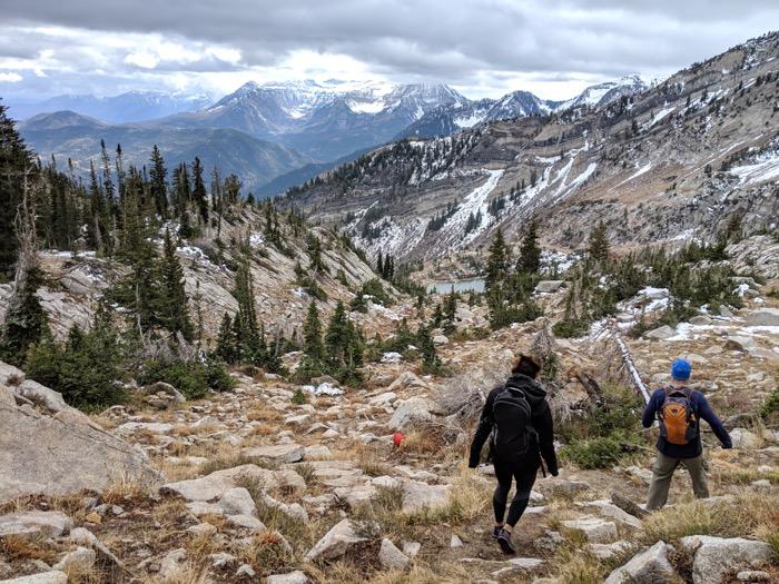 Silver Glance Lake hike