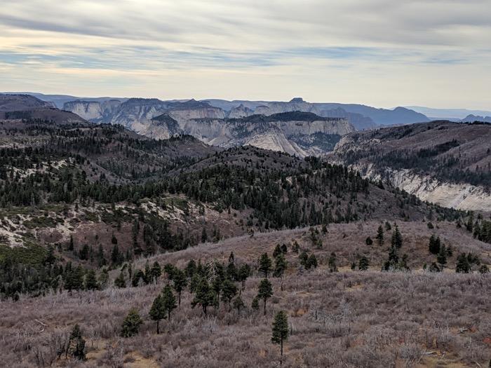 West Rim Trail view