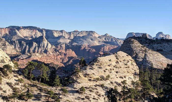 Northgate Peaks trail vista