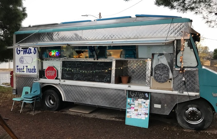 g-ma's food truck in alpine