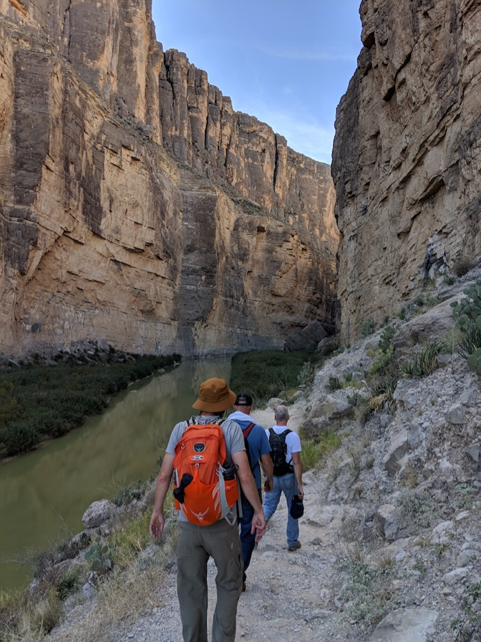 Santa Elena Canyon hike