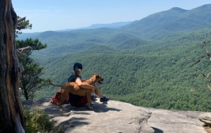 Bugsy on Looking Glass Rock