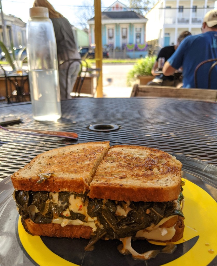 collard melt at Turkey and the Wolf