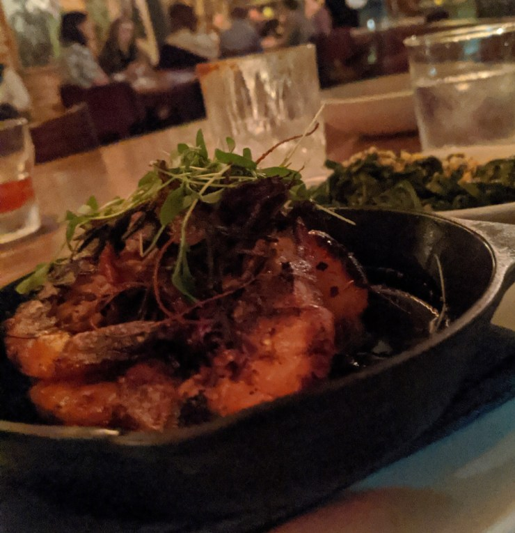 dinner at Compere Lapin in New Orleans