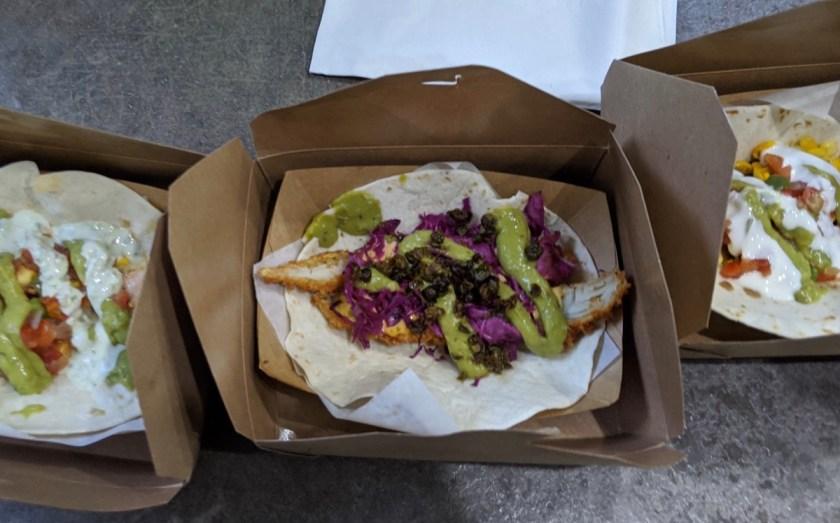 tacos from Vinyl Taco in Fargo