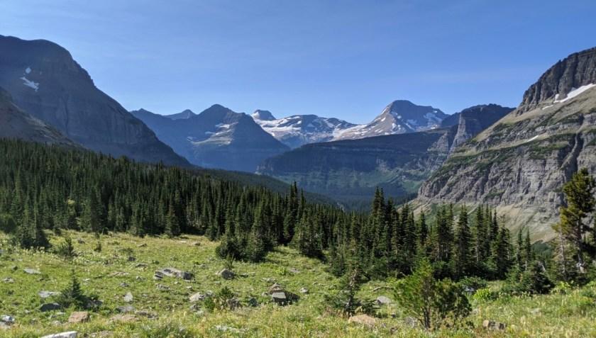 Piegan Pass trail in GNP