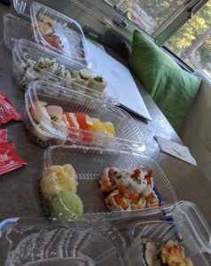 sushi from whitefish, mt
