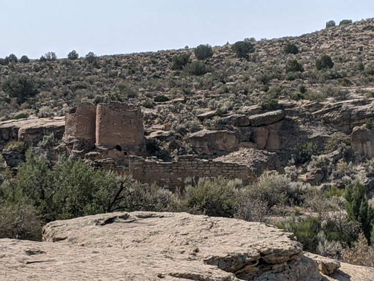 prehistoric structures at Hovenweep