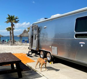 bugsy and the airstream beachfront in Pensacola Beach