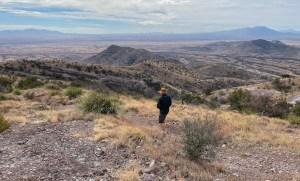 hiking in Coronado National Monument