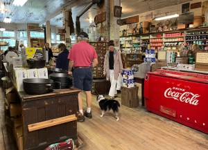 cute and touristy Mast General Store in Valle Crucis