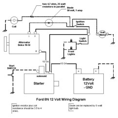 Ford 8n 12v Conversion Wiring Diagram York Electric Furnace 12 Volt Harness Blog 1948 Tractor