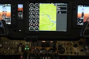 avionics, king air