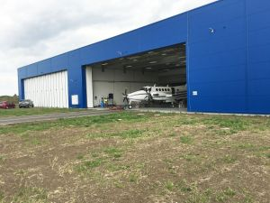 Beechcraft Super King Air 200 in Hangar