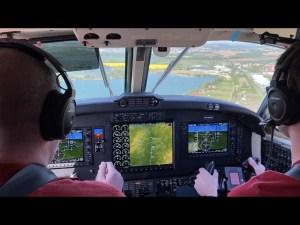 beechcraft 200 super king air in flight 2