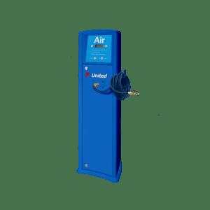 FRP Freestanding inflator with compressor United service station