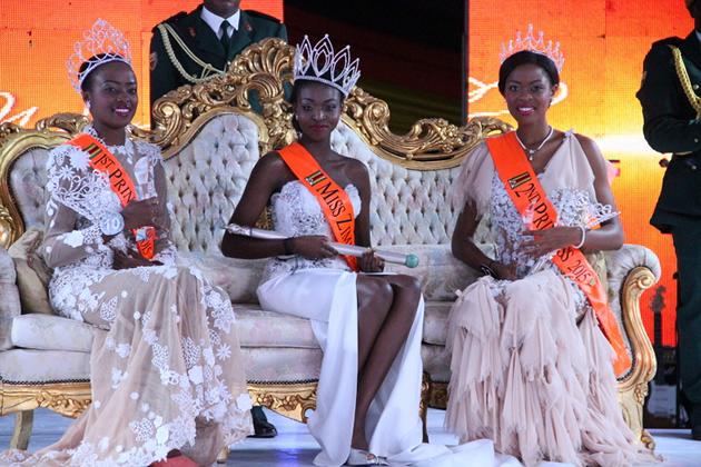 Emily Katanga Kachote - Miss Zimbabwe 2015