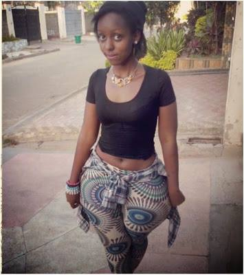This young Kenyan beauty says hips don't lie - I got it !!