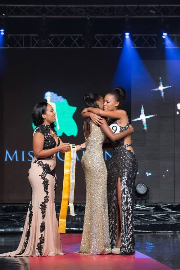 Hugs From The Team - Miss Gabon