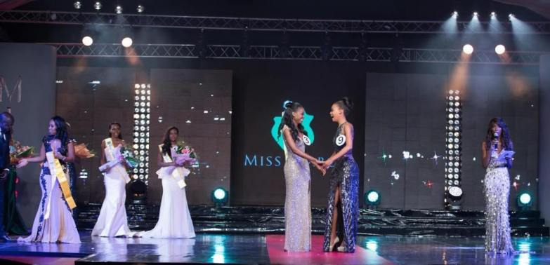 Miss Gabon Gala 2015 - Awesome Stage Arrangement