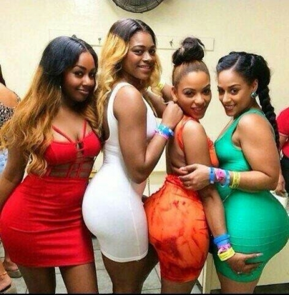 Girls attending church in short mini dresses in Nigeria - Source HotNaijaNews