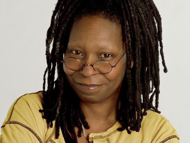 Whoopi Goldberg - Admired for her TV, Drama and Art skills