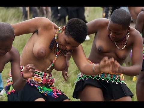 Swazi Girls at Reed Dance Ceremony of King Mswati