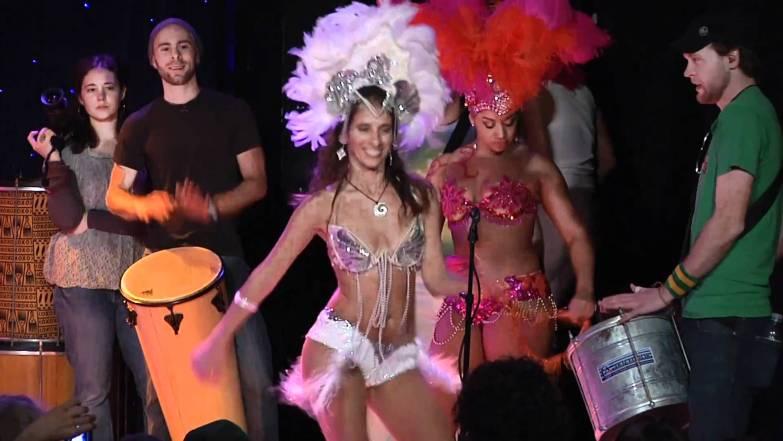 Samba Girls in Brazil