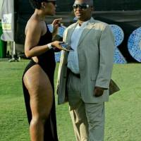 Zodwa Wabantu Walks Half Naked at Durban Day Fashion Show