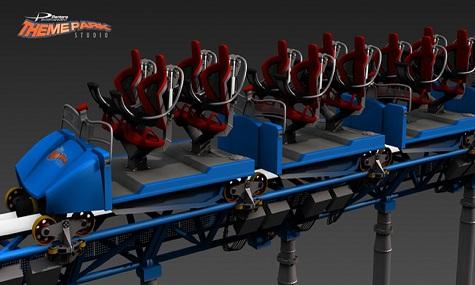 """Einer der zahlreichen Züge von """"Theme Park Studio"""""""