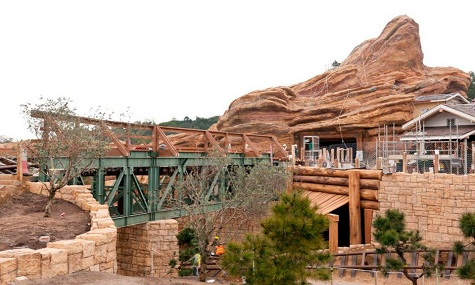 Grizzly Gulch in Disneyland Hong Kong