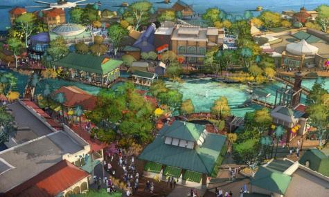 Artwork zu Disney Springs - Anklicken zum Vergrößern!