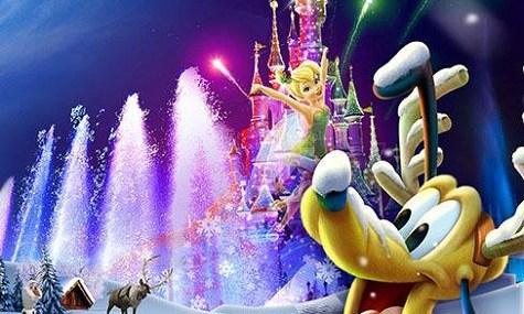 Goofy scheint sich über Weihnachten zu freuen. Für volle Größe bitte anklicken!