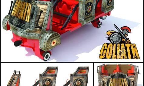 """So werden die Züge von """"Goliath"""" aussehen - Anklicken zum Vergrößern!"""