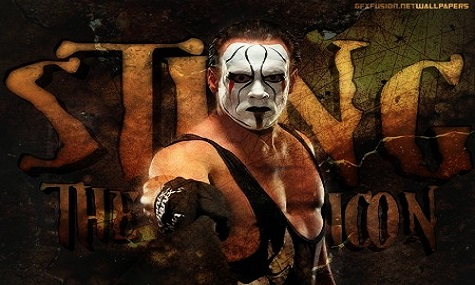 Er ist DER Superstar von TNA und seit vielen Jahren einer der ganz großen Stars der Szene  -  The Icon Sting.