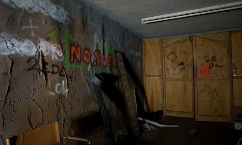 """Schotten dicht und dennoch alles voller Graffiti: Der """"neue"""" Dungeon of Doom"""