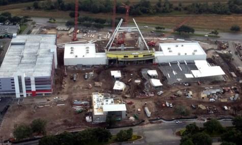 """Blick auf die Baustelle von """"Orlando Eye"""". Bild: Orlando Sky Radio"""