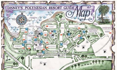 Walt Disney World Resort Check – Disney\'s Polynesian Resort ...
